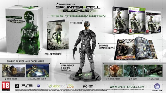Splinter Cell: Blacklist The 5th Freedom Edition
