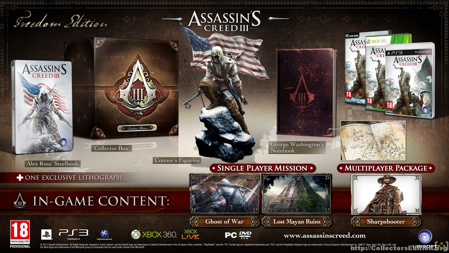 Assassin's creed iii (game) giant bomb.