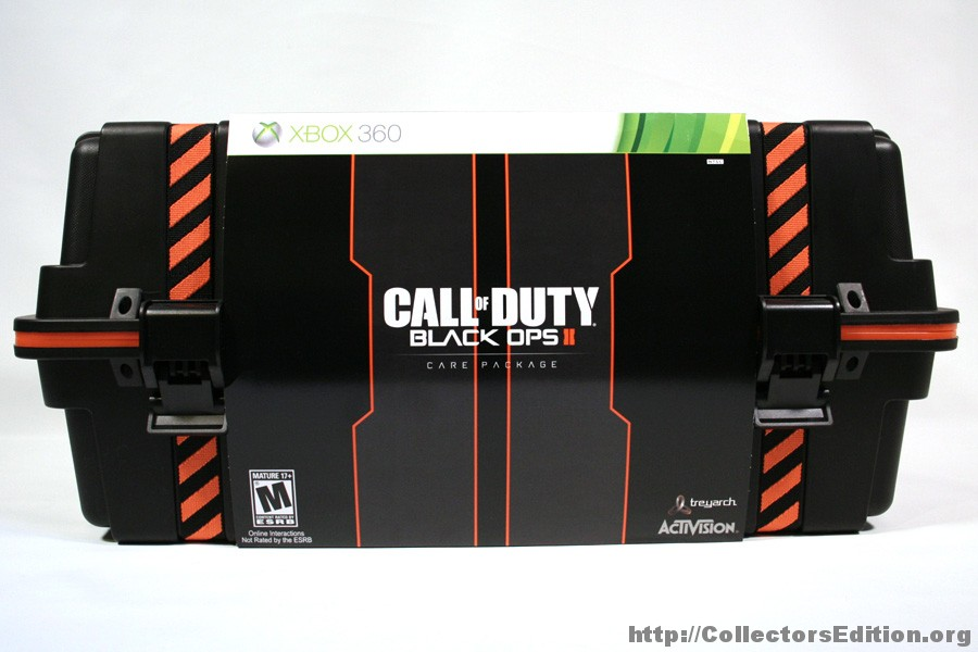 Call of duty: black ops 2 care package, prestige editions.