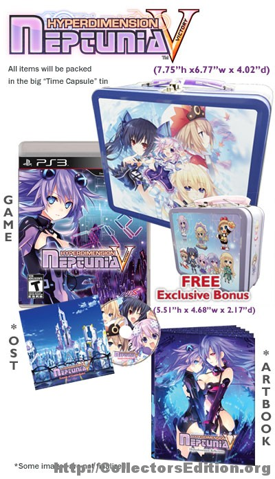 Hyperdimension Neptunia Victory  Limited Edition (PS3) [1]