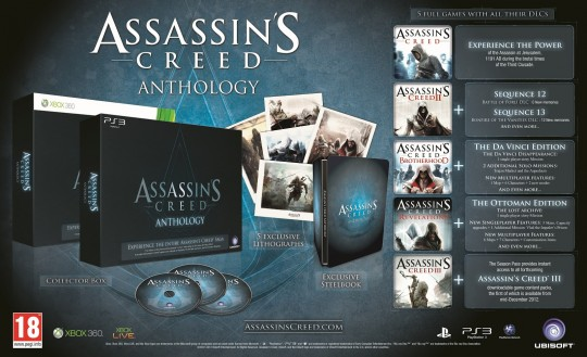 Assassin's Creed Anthology  Edition (PS3) [2]