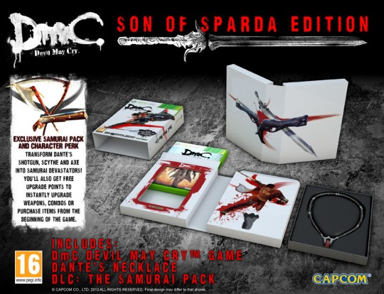 devil may cry dmc son of sparda edition