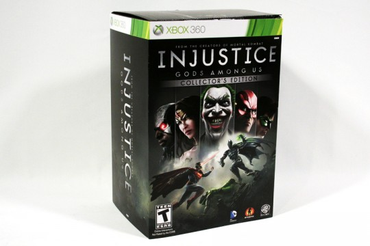 Injustice Gods Among Us Collectors Edition (Xbox 360) [NTSC] (Neatherealm)