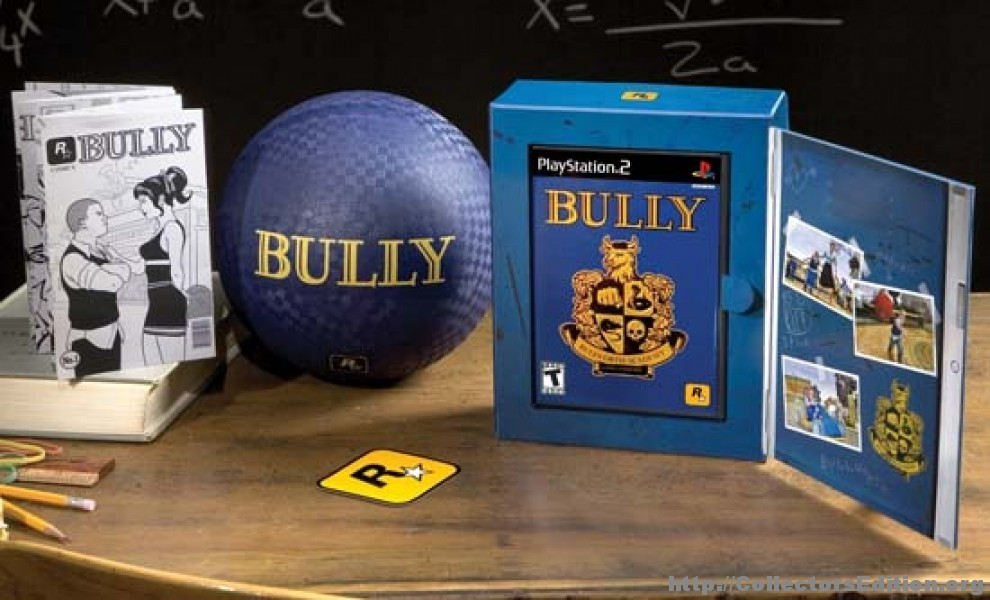 CollectorsEdition.org » Bully Edition (PS2) [NTSC]