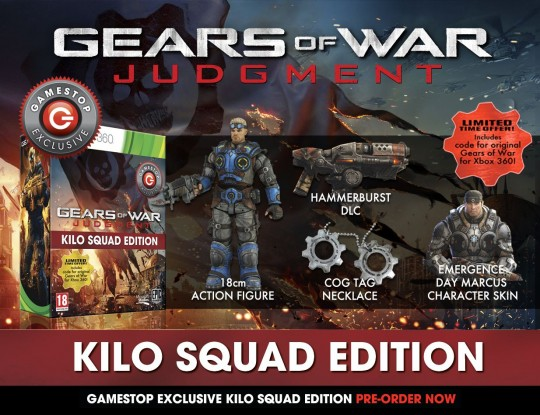 Gears of War Kilosquad