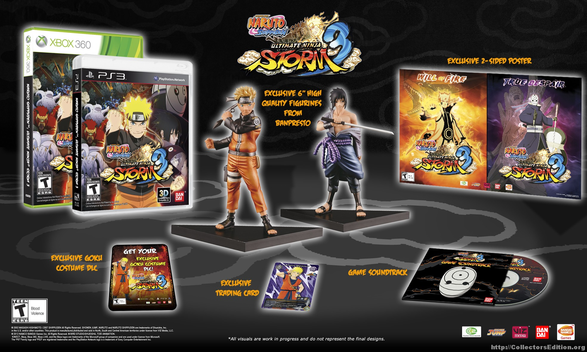 CollectorsEdition org » Naruto Shippuden Ultimate Ninja Storm 3
