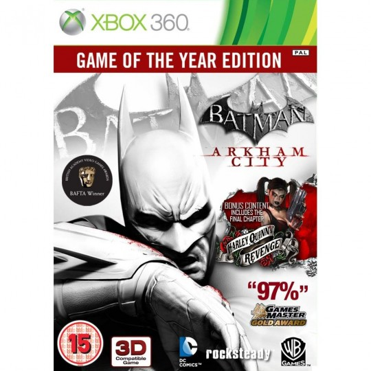 Batman Arkham City  Game of the Year xbox