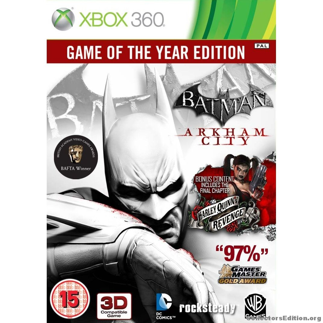 Batman Harley Quinn Xbox 360 Wiring Diagrams Mixedcircuits Delabs Schematics Electronic Circuit Collectorsedition Org Arkham City Game Of The Year Edition Rh