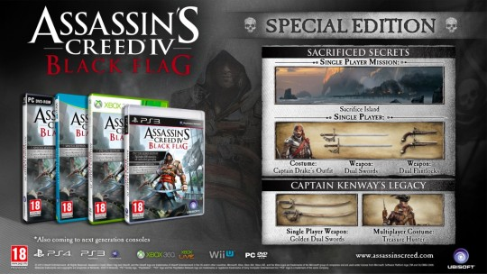 assassins creed 4 special edition
