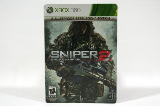 Sniper 2 Ghost Warrior Bulletproof SteelBook Edition (Xbox 360) [NTSC]