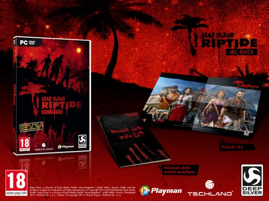 Dead Island Riptide JRC edition