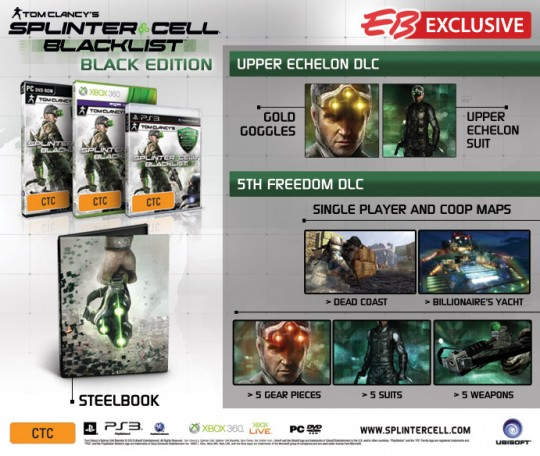 Splinter Cell Blacklist  Black Edition