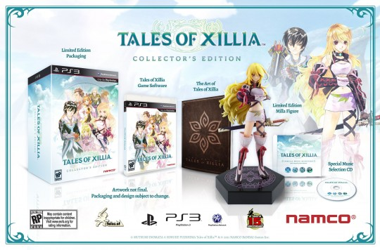 Tales of Xillia: Collector's Edition