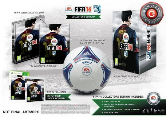 fifa 14 collectors edition