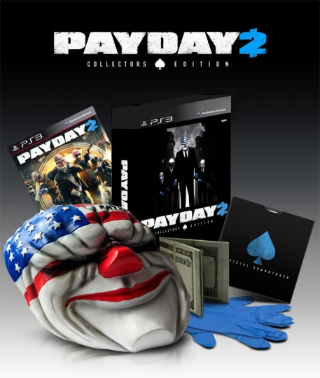 payday 2 collectors edition