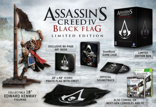 assassins creed black flag american collectors edition