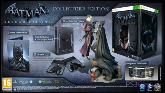 Batman arkham origins collector's edition