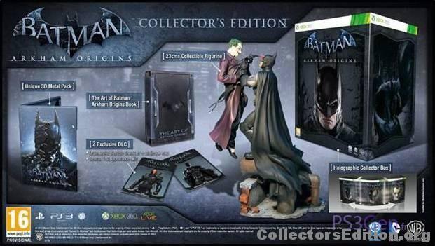 Batman Arkham Origins Collectors Edition