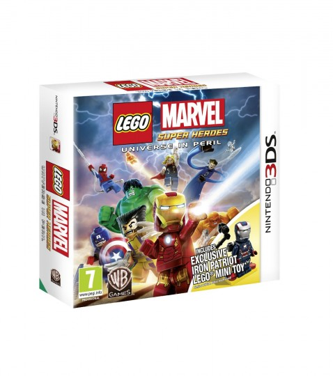 LEGO Marvel Super Heroes 3DS