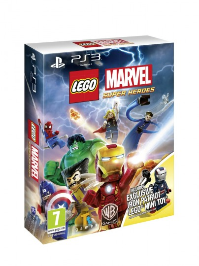 Lego Marvel Super Heroes Iron Patriot Minifigure Edition PS3