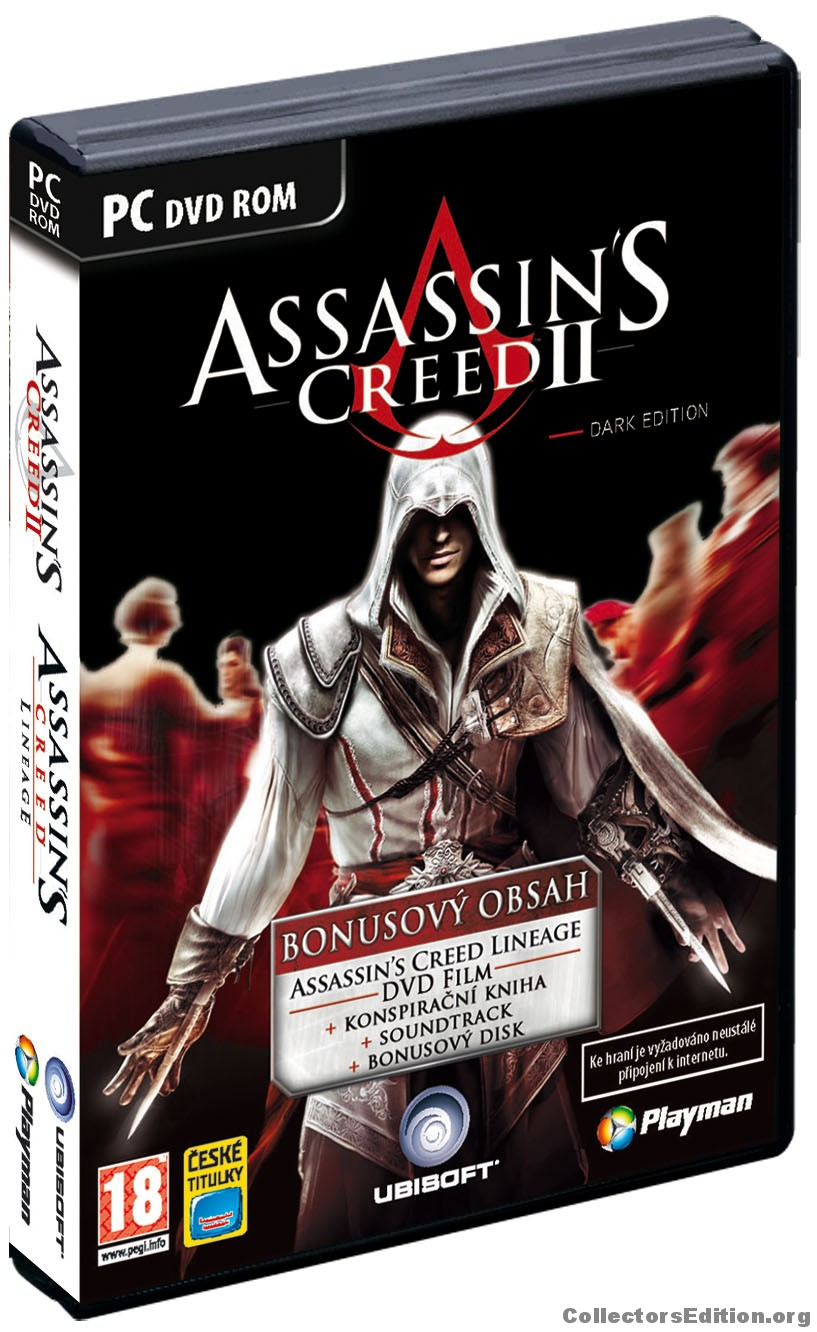 Collectorsedition Org Assassin S Creed Ii 4 Disc Limited Dark