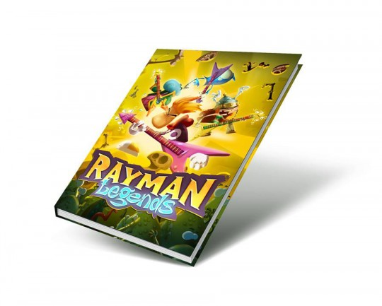 Rayman Legends Notebook