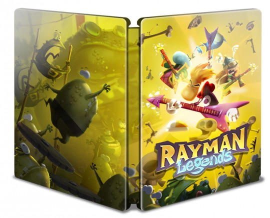 rayman legends steelbook edition