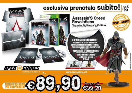 Assassins Creed Revelations Templar Edition