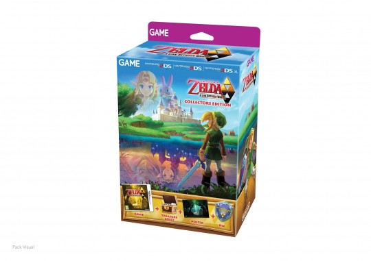 The Legend of Zelda A Link Between Worlds Collector's Edition
