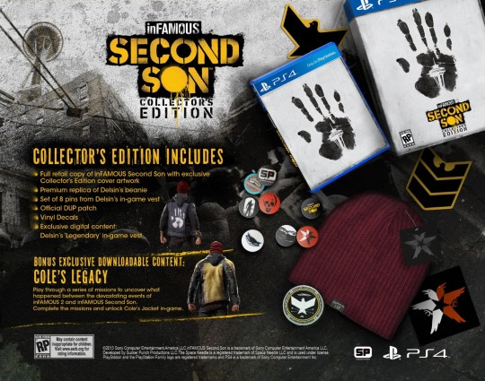 inFAMOUS: Second Son Collectors Edition