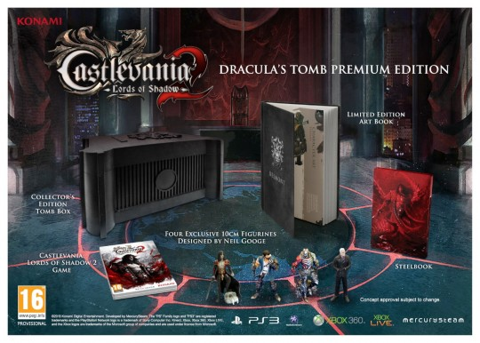 Castlevania 2 Lords of Shadow Dracula's Tomb Premium Edition