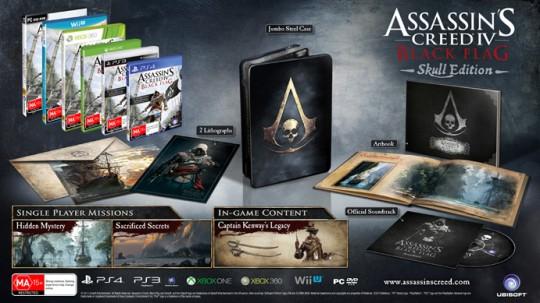 Assassins Creed IV Black Flag Skull Edition