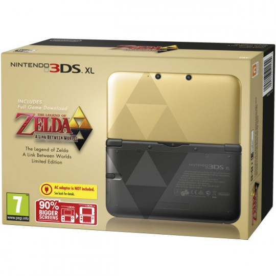 The Legend of Zelda: A Link Between Worlds Limited Edition 3DS XL