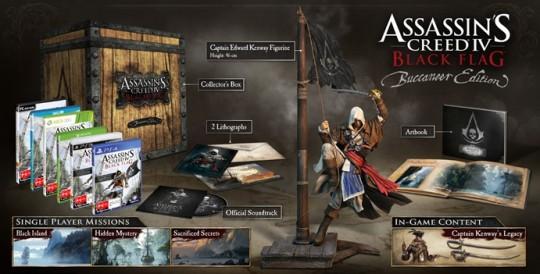 Assassins Creed IV Flag Flag Buccaneer Edition