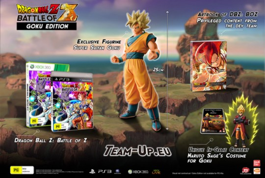Dragon Ball Z: Battle of Z Goku Edition