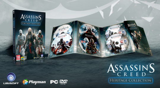 Assassin's Creed Heritage (Digipak) Collection