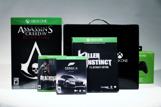 Xbox One Day One Collector's Editions