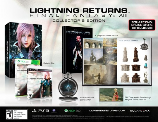 Lightning Returns: Final Fantasy XIII Collector's Edition