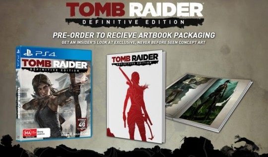 Tomb Raider Definitive Edition (Art Book Packaging)