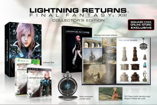 Lightning Returns: Final Fantasy XIII Collectors Edition
