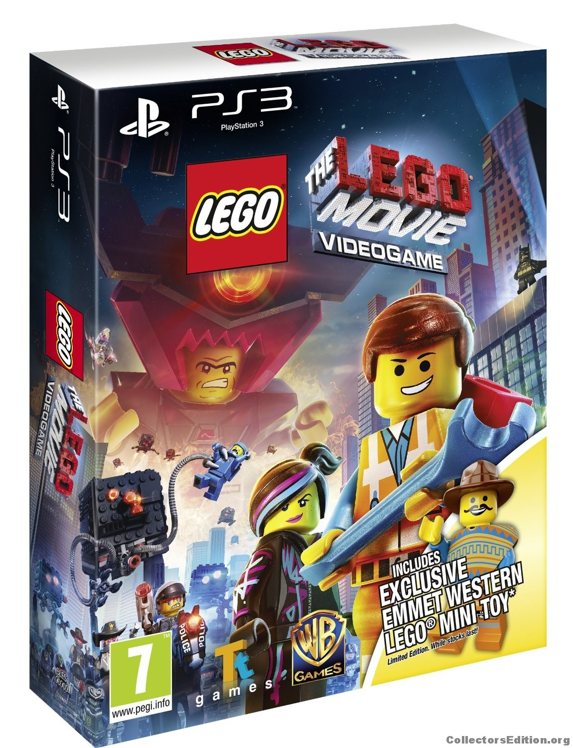 CollectorsEdition.org » The LEGO Movie Videogame (Western ...