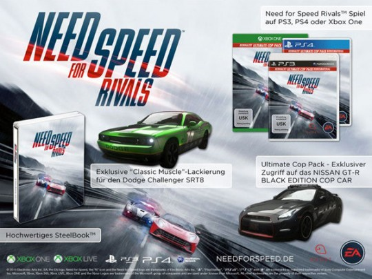 Need For Speed: Rivals Steelbook Edition