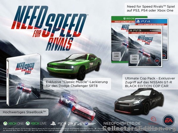 Need For Speed Rivals Steelbook Edition