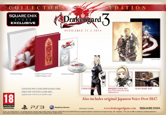 Drakengard 3 Collector's Edition