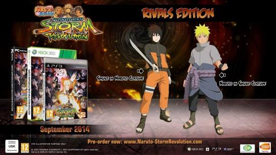 Naruto Shippuden Ultimate Ninja Storm Revolution's Rivals Edition