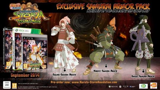 Naruto Shippuden Ultimate Ninja Storm Revolution's Samurai Edition
