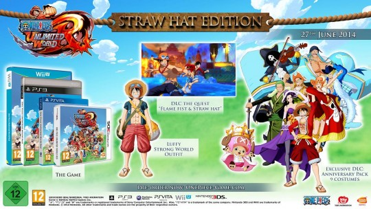 One Piece Unlimited World Red's Straw Hat Edition