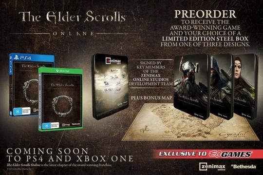 The Elder Scrolls Online Steelbook Edition