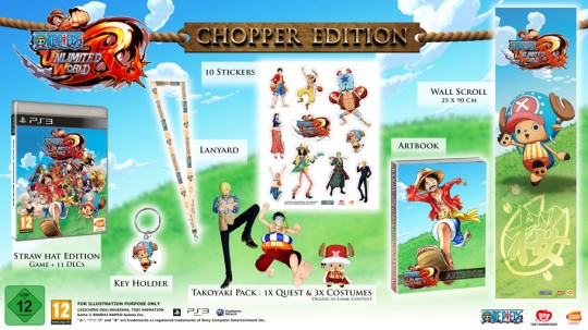One Piece Unlimited World Red Chopper Edition