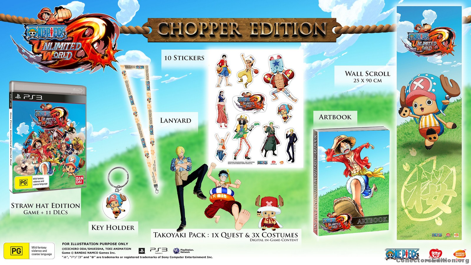 CollectorsEdition org » One Piece Unlimited World Red